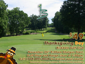 Thanksgiving Day at Birkdale Golf Club