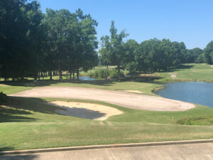 Completed Surface Preparation Hole 18 Green