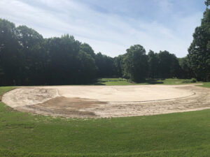 Completed Surface Preparation Hole 6 Green