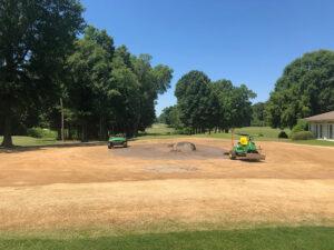 Renovation Putting Green