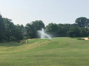Watering New Green Hole #1